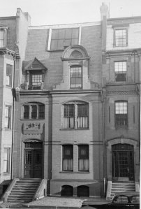 312 Marlborough, location of Corinne Harmon's music studio in Boston, Mass.